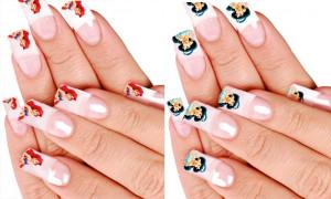 princess ariel nails