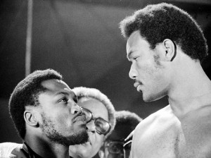 Meaningful Glance joe frazier george foreman boxing sports history