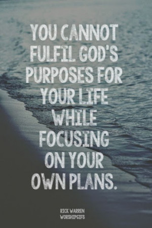 gods purpose for your life