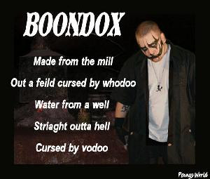 boondox with no facepaint