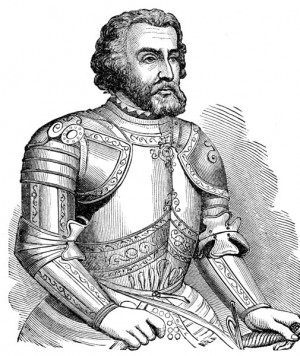 Hernando Cortés (1485-1547)