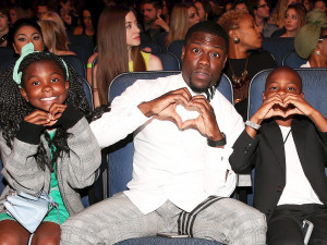 Heaven Hart, Kevin Hart and Hendrix Hart