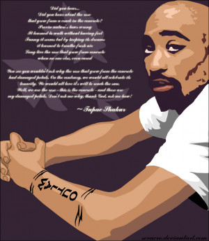 Tupac Shakur Quotes Author The Rose That Grew From Concrete Pictures