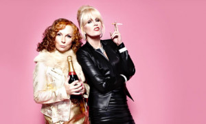 Also, brand new Absolutely Fabulous Identity on BBC One Sunday at 10pm ...