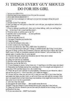 ... Should Do, Things Guys Should Do, Quotes Your Girlfriend, Stinkin True