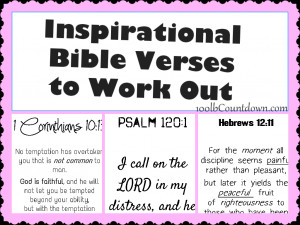 motivational scriptures for weight loss