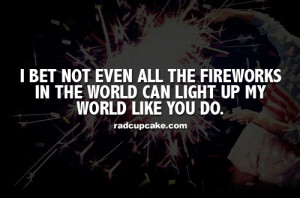 fireworks love quotes