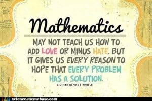 Isnt Math the Best | Science!