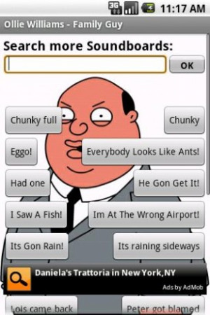 View bigger - Ollie Williams - Family Guy for Android screenshot