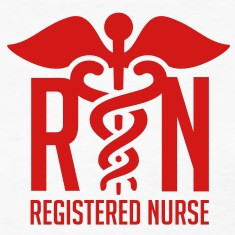 Registered Nurse Symbol RN - Registered Nurse