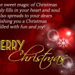 May the sweet magic of christmas, christmas wishes quotes