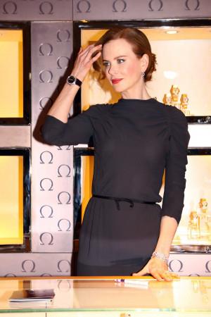 Australian actress Nicole Kidman and Stephan Urquhart President of