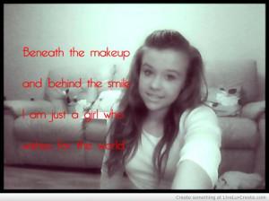 Girls Love Pretty Quotes Quote