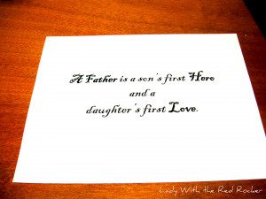 Soon To Be Daddy Quotes I wanted the quote to look