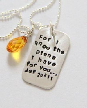 Religious Graduation Gift Religious Jeremiah by whiteliliedesigns, $48 ...