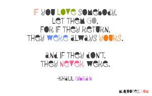 Quote about Love by Khalil Gibran