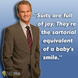 The Awesomest Barney Stinson Quotes