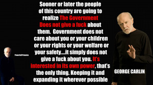 George Carlin & The Greatest Speech (ANTI-GOV, SYRIA)