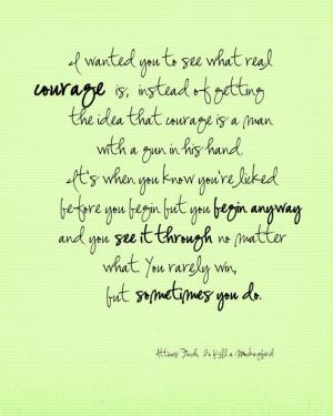 Atticus quote To Kill a Mockingbird