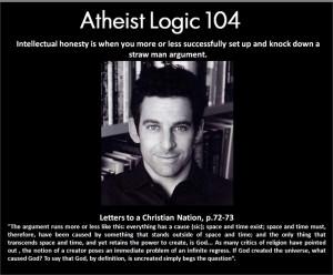Intellectual honesty (Sam Harris): Atheism, Sam Harry