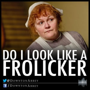 In staff news, the love triangles continue. Mrs. Patmore makes the ...