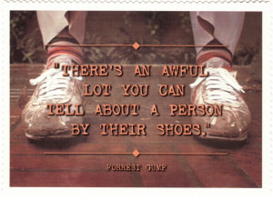 There's an awful lot you can tell about a person by their shoes