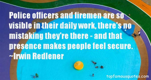 Top Quotes About Police And Firemen