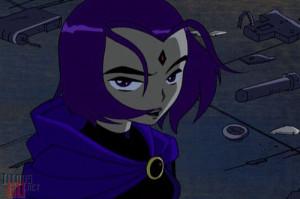 Raven Teen Titans...