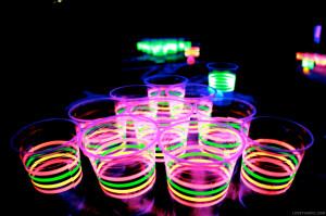 Glowing Neon Drinks