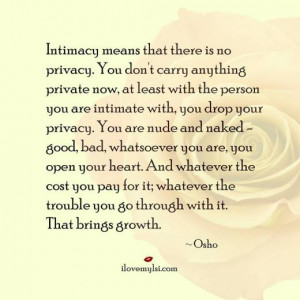 Quotes About Intimacy in Relationships