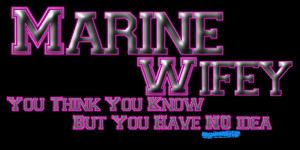 Day in the life of a Marine Wife