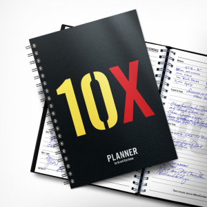 The 10X Daily Planner PREORDER