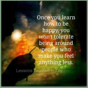So true, miserable people love company so do happy ones...