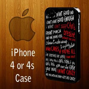 1014 Hunter Hayes quotes lyric iPhone 4 or 4s case | statusisasi ...