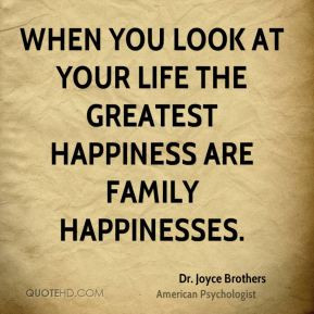 Dr Joyce Brothers Quote