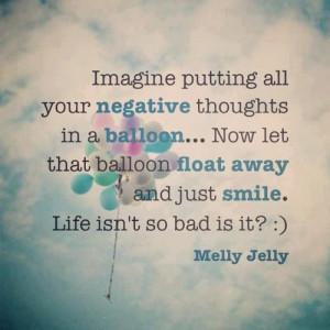 positive quotes balloon