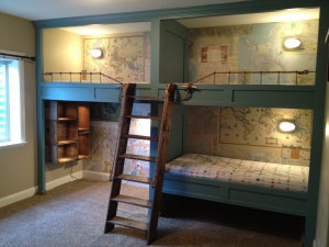 Step Brothers Bunk Beds Next step ladder, railing and