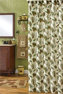 Walk In The Woods shower curtain by park designs