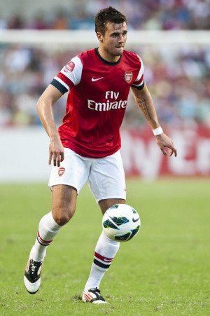 carl jenkinson carl jenkinson of arsenal fc in action during the pre
