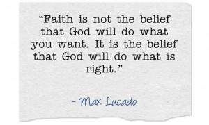 Faith is Max Lucado Quotes faith is Max Lucado Quotes womans heart ...