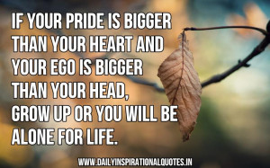 Quotes About Ego and Pride