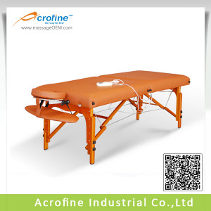 View Product Details: Acrofine Wooden portable bed/ tattoo massage ...