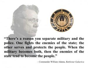 Commander William Adama
