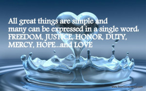 Quotes About Gods Love And Forgiveness: All Great Things Are Simple ...