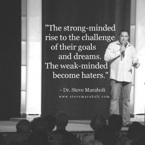 The strong-minded rise to the challenge of their goals and dreams ...