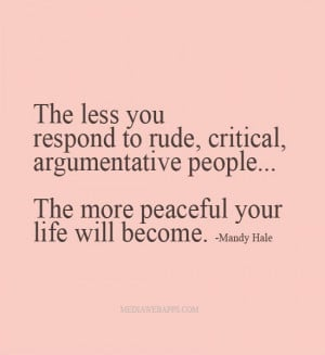 rude people quotes rude people quotes rudeness is the weak mans rude ...