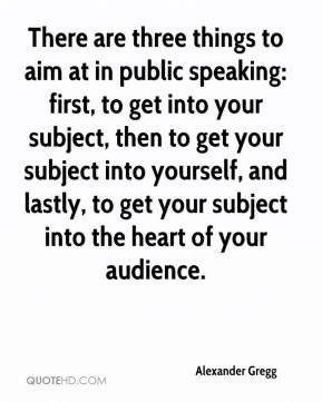 Public speaking Quotes