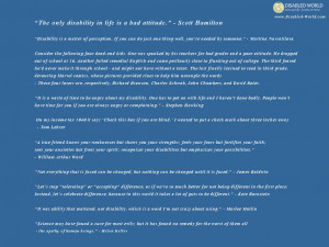 Download the disability quotes wallpaper from http://www.disabled ...