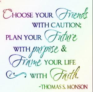 Graduation quote!: Friends, Life, Inspiration, Quotes, Monson, Faith ...