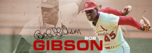 Bob Gibson Pitching Speed